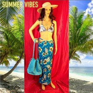 Floral Swim Suit Cover-Up